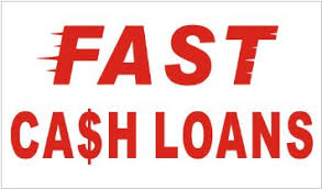 Fast Ca$h Loans in red on a white background - cheap loans